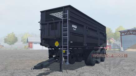 Krampe Big Body 900 black for Farming Simulator 2013