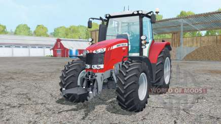 Massey Ferguson 6613 change wheels for Farming Simulator 2015