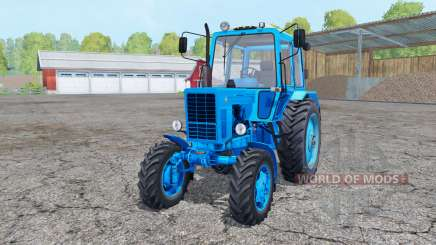 MTZ 82 Belarus heavenly blue color for Farming Simulator 2015