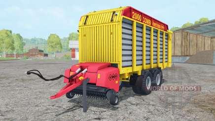 Veenhuis Combi 2000 ripe lemon for Farming Simulator 2015