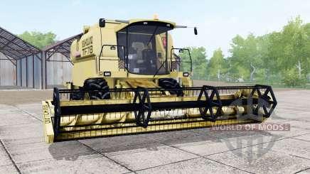 New Holland TF78 soft yellow for Farming Simulator 2017