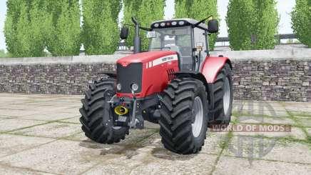 Massey Ferguson 7480 deep carmine pink for Farming Simulator 2017