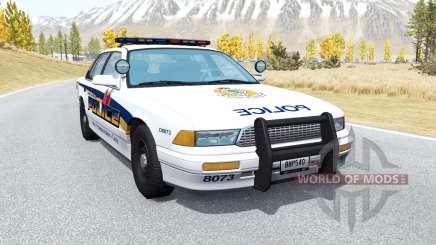 Gavril Grand Marshall Vancouver Police for BeamNG Drive