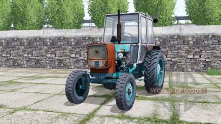 UMZ-6КЛ turquoise color for Farming Simulator 2017