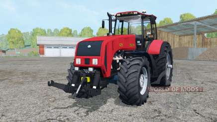 Belarus 3522 bright red color for Farming Simulator 2015