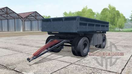 NefAZ-8560 dark gray-blue color for Farming Simulator 2017