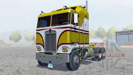 Kenworth K100 manual ignition for Farming Simulator 2013