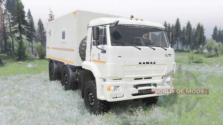 KamAZ 65224 MOE for Spin Tires
