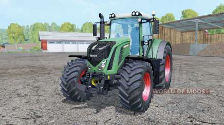 Fendt 927 Vario chateau green for Farming Simulator 2015