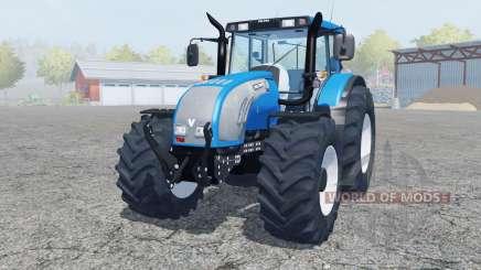 Valtra T182 spanish sky blue for Farming Simulator 2013