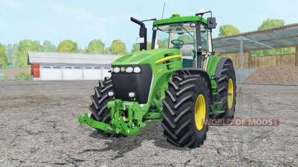 John Deere 7920 vivid malachitᶒ for Farming Simulator 2015