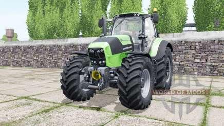 Deutz-Fahr Agrotron 7210 TTV soft lime green for Farming Simulator 2017
