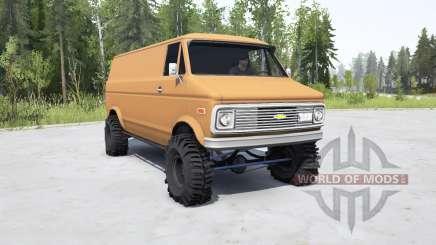 Chevrolet G10 1975 for MudRunner