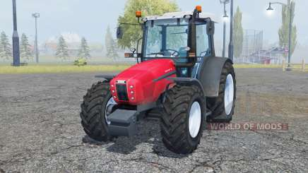 Same Explorer 105 radical red for Farming Simulator 2013