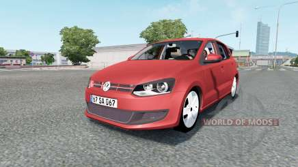 Volkswagen Polo 5-door (Typ 6R) 2010 for Euro Truck Simulator 2