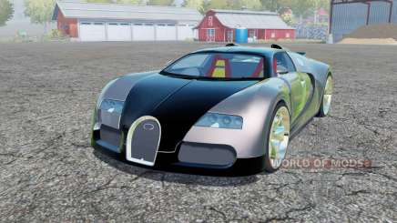 Bugatti Veyron 2006 for Farming Simulator 2013