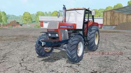 Ursus 1214 pastel red for Farming Simulator 2015