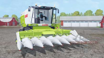 Claas Lexion 770 animated ejection rotors for Farming Simulator 2015