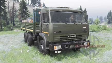 KamAZ 53228 for Spin Tires