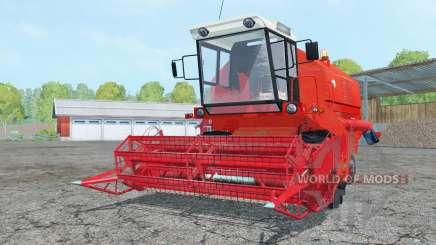 Bizon Z058 light red for Farming Simulator 2015