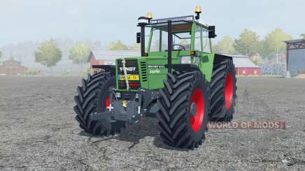Fendt Favorit 615 LSA Turbomatik chateau green for Farming Simulator 2013
