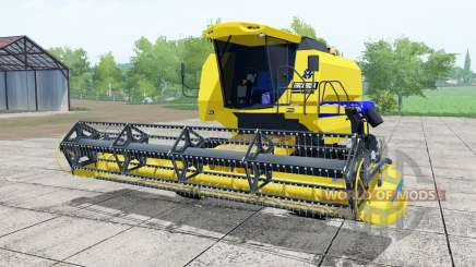 New Holland TC5090 lemon yellow for Farming Simulator 2017