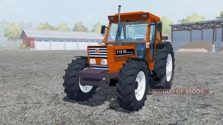 New Holland 110-90 pure orange for Farming Simulator 2013