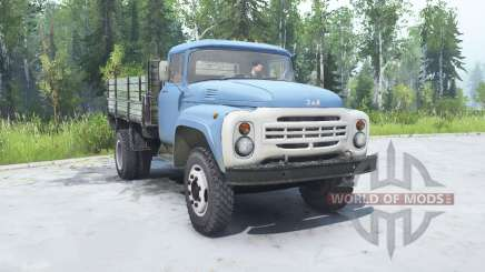 ZIL 130 soft-blue color for MudRunner