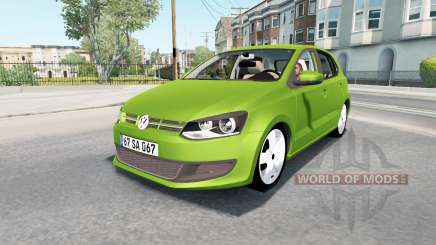 Volkswagen Polo 5-door (Typ 6R) 2010 for American Truck Simulator