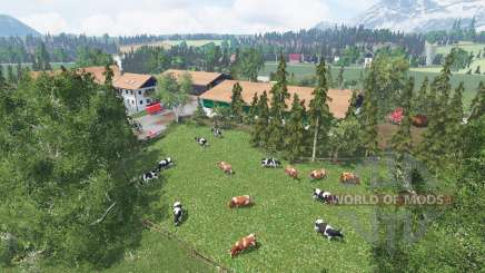 Allgauer Moor for Farming Simulator 2015