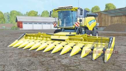 New Holland CR10.90 titanium yellꝍw for Farming Simulator 2015