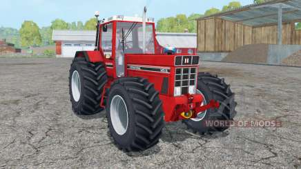 International 1455 XL light brilliant red for Farming Simulator 2015