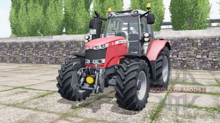 Massey Ferguson 6616 sizzling red for Farming Simulator 2017