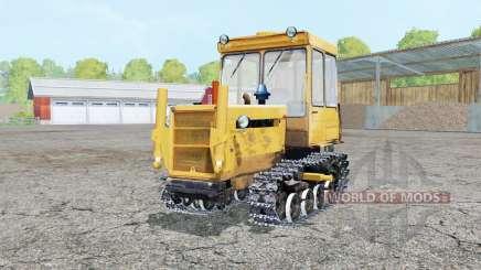 DT-75ML bright orange color for Farming Simulator 2015