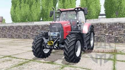 Case IH Puma 165 CVX bright red for Farming Simulator 2017