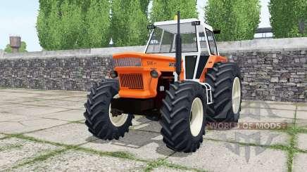 Fiat 1300 DT super vivid orange for Farming Simulator 2017
