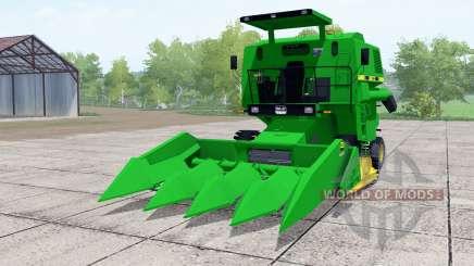 SLC 6200 green for Farming Simulator 2017