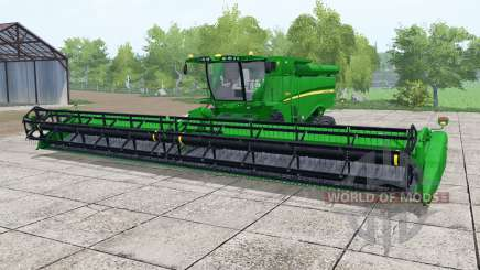 John Deere S690i islamic green for Farming Simulator 2017