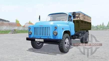 GAZ-53 blue color for Farming Simulator 2017