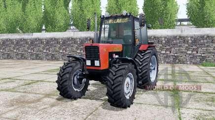 MTZ-82.1 Belarus, bright red color for Farming Simulator 2017