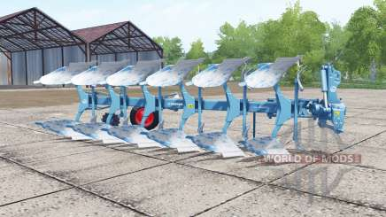 Lemken Juwel 8 strong cyan for Farming Simulator 2017