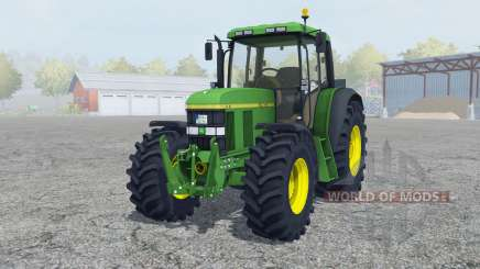 John Deere 6610 change wheels for Farming Simulator 2013
