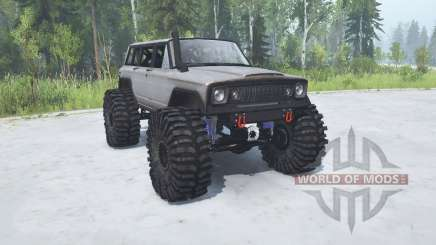 Jeep Wagoneer 1978 TTC for MudRunner