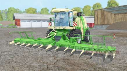 Krone BiG X 1100 double colonial white for Farming Simulator 2015