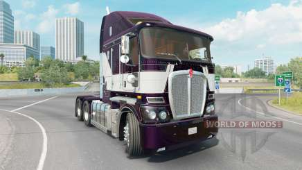 Kenworth K200 dark purple for American Truck Simulator