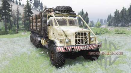 The KrAZ-255B 8x8 for Spin Tires
