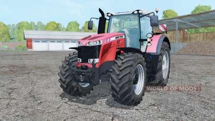 Massey Ferguson 8737 light red for Farming Simulator 2015