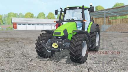 Deutz-Fahr Agrotron 120 Mk3 change wheels for Farming Simulator 2015