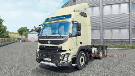 Volvo FMX 540 6x6 Globetrotter cab 2013 for Euro Truck Simulator 2