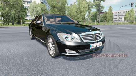 Mercedes-Benz S 350 (W221) 2009 for Euro Truck Simulator 2